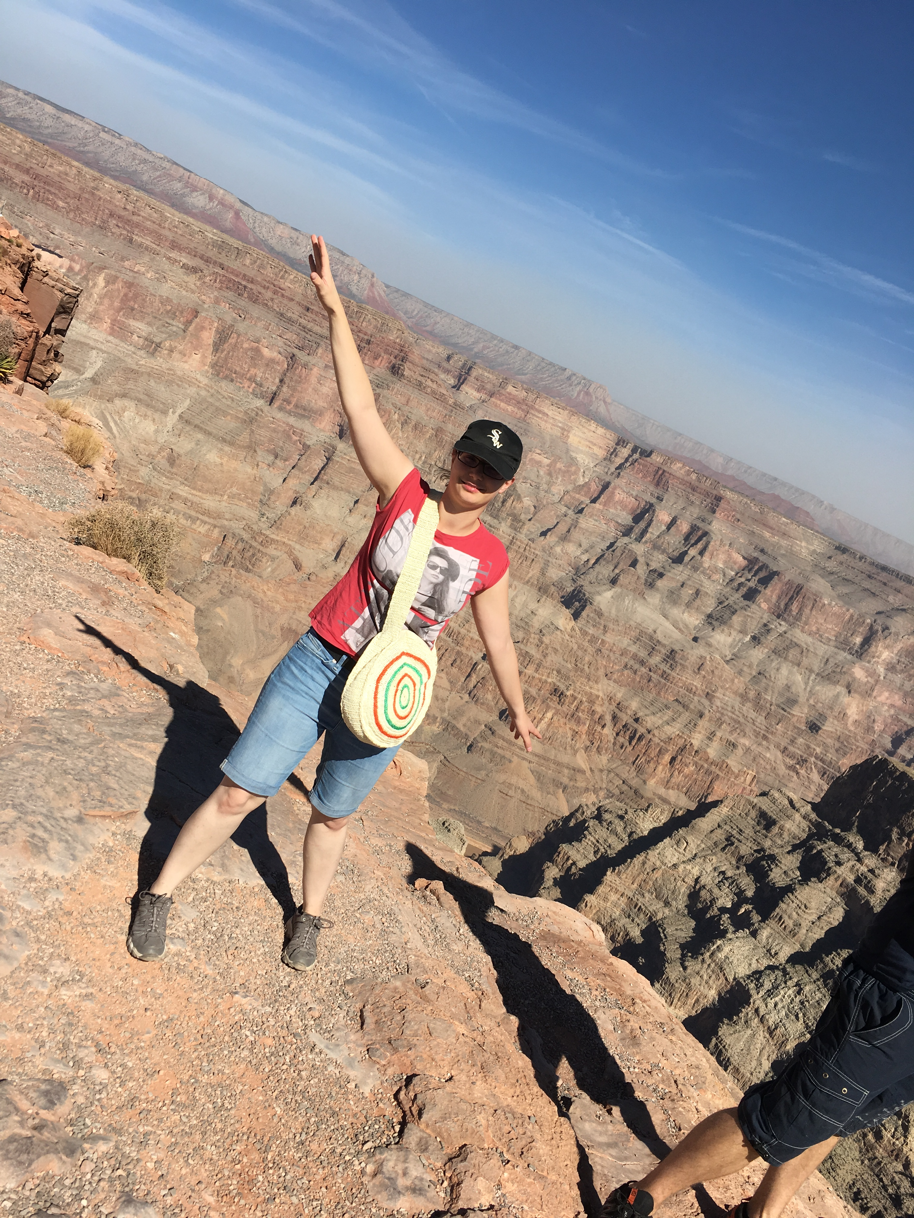 Ich am Grand Canyon