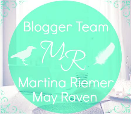 Button für Blogger Team von Martina Riemer und May Raven