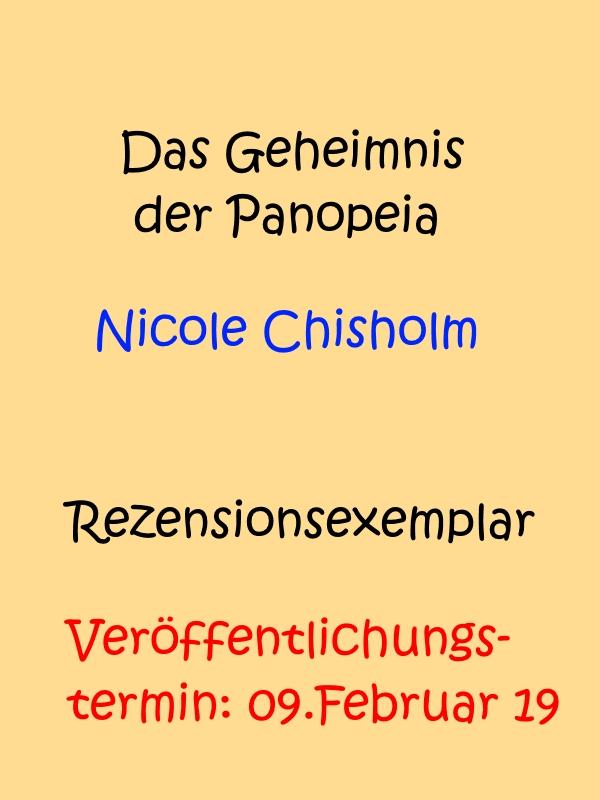 Buch 'Das Geheimnis der Panopeia' von Nicole Chisholm